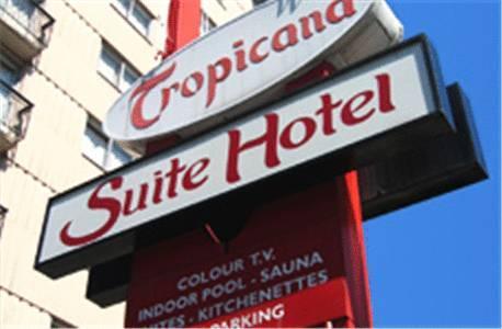 Tropicana Hotel In Vancouver Bc Canada